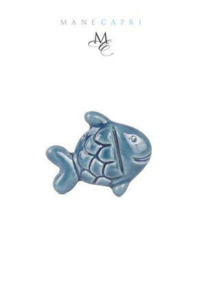 Calamita in ceramica a forma di pesciolino Manè Capri | 20000005 | PESCE SMILEBLU