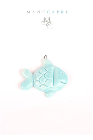 Decorative ceramic tile fish shaped Manè Capri | 20000004 | PESCE TILETURCHESE