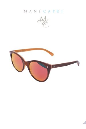 Medy ooh sunglasses with double color frame Medy Ooh | 53 | 90051MARRONE/GIALLO