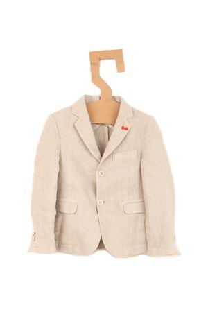 Pure linen jacket for baby boy Nupkeet | 3 | NUP65BEIGE