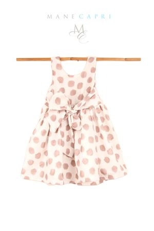 Sartorial polka dot dress for baby girl Opililai | 5032262 | OPI96POIS