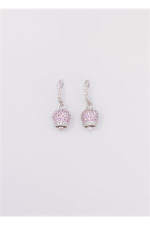 Silver earrings with Capri Bell Pierino Jewels | 48 | 3026AROSA