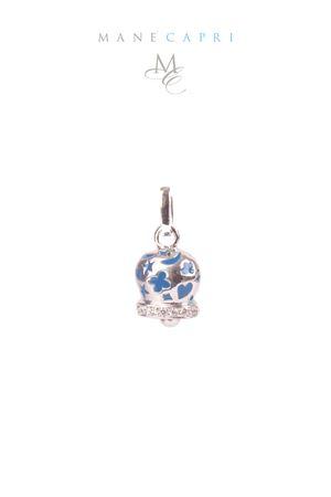 Campanella Caprese portafortuna con zirconi Pierino Jewels | 5032249 | 3054CBLU