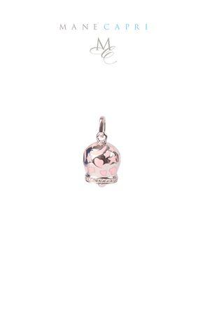 Campanella Caprese portafortuna con zirconi Pierino Jewels | 5032249 | 3054CROSA