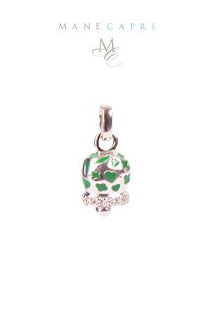 Campanella Caprese portafortuna con zirconi Pierino Jewels | 20000055 | 3056CVERDE