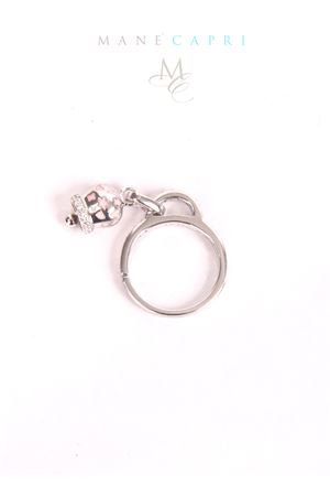 Silver ring with lucky Capri Bell Pierino Jewels | 5032250 | 3057AROSA