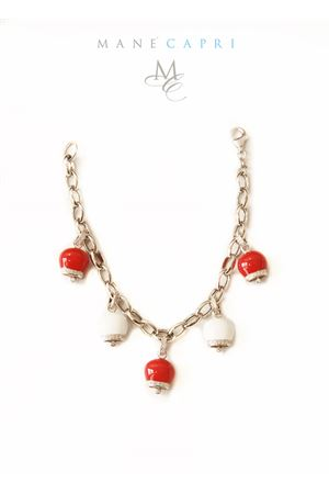 Red and White Capri bells bracelet Pierino Jewels | 36 | RED BELLSROSSO