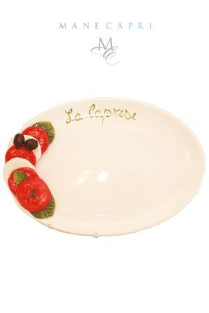 Ceramic serving plate caprese salad Sea Gull Capri | 20000026 | CAPRESE CGR CM 35X25