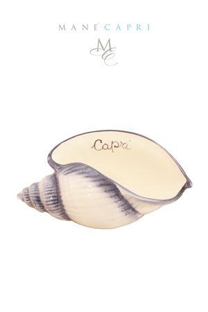 Ceramic shell Sea Gull Capri Sea Gull Capri | 20000025 | CONC CAPRI BLUBLU CM 23X12
