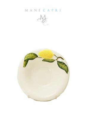 Coppetta in ceramica con limone Sea Gull Capri | 20000026 | COPPETTA LIMONILIMONI