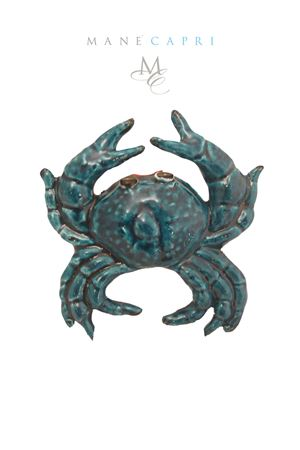 Ceramic crab  Sea Gull Capri | 20000004 | GRANCHIOCM 20X20