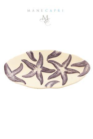 Blue sea stars ceramic plate Sea Gull Capri | 20000026 | PMEST STELLA BLUSTELLA BLU