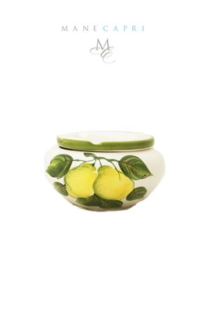 Windscreen ashtray with lemons Sea Gull Capri | 20000026 | POSACENERE ANTIV LIMLIMONI 13 CM