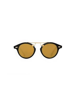 Spektre COSMOPOLIS sunglasses black with yellow lenses Spektre | 53 | COSMOPOLISBLACK GOLD MIRROR