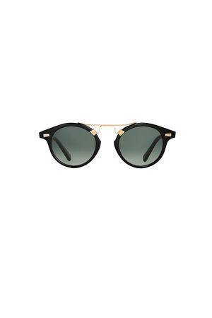 Spektre sunglasses Cosmopolis model black with gradient grey lenses Spektre | 53 | COSMOPOLISBLACK GRADIENT GREEN