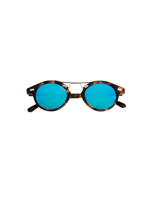 High quality Spektre sunglasses Cosmopolis model Spektre | 53 | COSMOPOLISHAVANA BLUE MIRROR