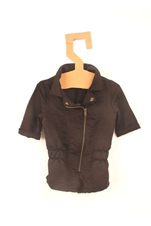 Black short jumpsuit for baby girl Yporque | 19 | YP89BLACK