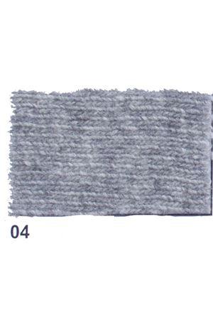 Giacca con frange in cachemire e lana grigio chiaro Art Tricot | 3 | D7171 FRINGE04GRIGIO
