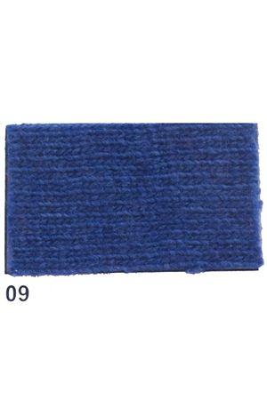 Giacca con frange in cachemire e lana blu Art Tricot | 3 | D7171 FRINGE09BLU