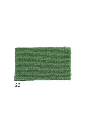 Giacca con frange in cachemire e lana verde Art Tricot | 3 | D7171 FRINGE22VERDE
