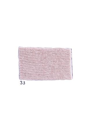 Giacca con frange in cachemire e lana rosa Art Tricot | 3 | D7171 FRINGE33 ROSA