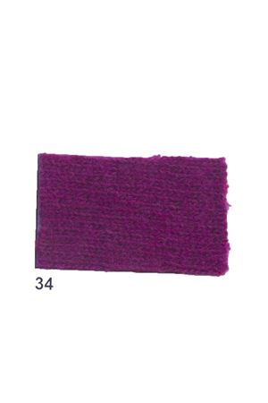 Cachemire and wool fringes violet jacket Art Tricot | 3 | D7171 FRINGE34VIOLA