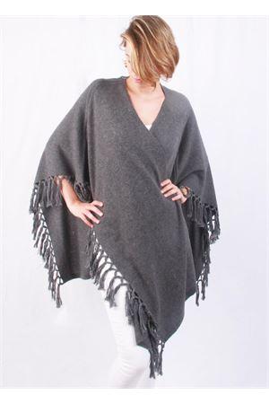 Giacca con frange in cachemire e lana grigio chiaro Art Tricot | 3 | D7171 FRINGEGRIGIO