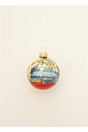 Christmas decoration with Blue Grotto of Capri Capri Bell | 20000025 | 20105327GROTTA AZZURRA