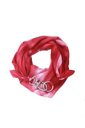 Fuxia belt scarf with hook closure Grakko Fashion | -709280361 | GRIFFUXIA