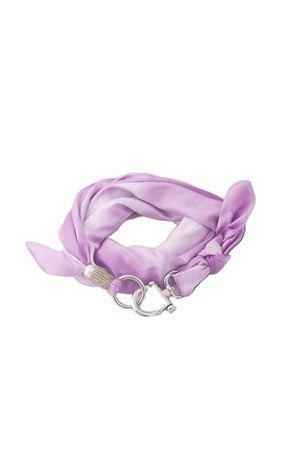 Liliac scarf with hook closure Grakko Fashion | -709280361 | GRIVVIOLA