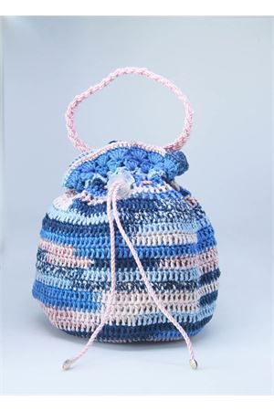Baby girl multicolor crochet bag  Il Filo di Arianna | 31 | BOR COT 01MULTICOLOR