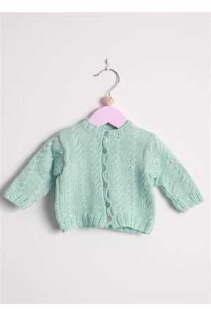 Cotton cardigan sweater for new born Il Filo di Arianna | 39 | CAR COT 05VERDE
