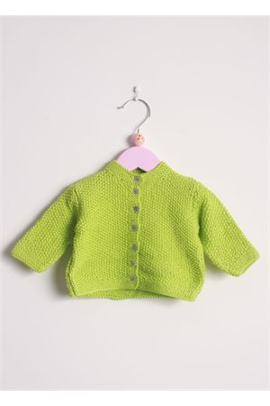 Cotton cardigan sweater for new born Il Filo di Arianna | 39 | CAR COT03VERDE