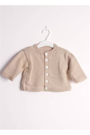 Wool cardigan sweater for new born Il Filo di Arianna | 39 | CAR LAN 01 BBEIGE