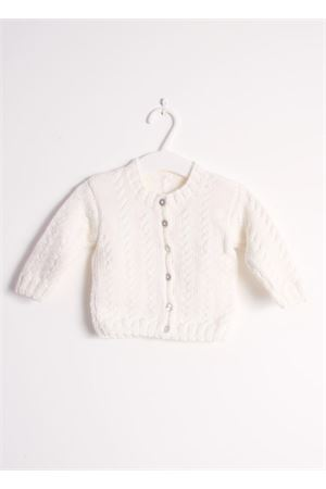 Wool white cardigan sweater for new born Il Filo di Arianna | 39 | CAR LAN 02 BNCBIANCO