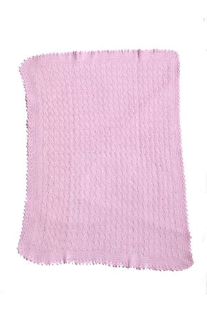 Cotton blanket for cradle Il Filo di Arianna | 20000039 | COP03ROSA