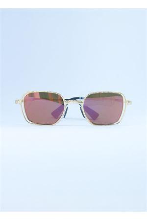Kuboraum gold steel frame sunglasses Kuboraum | 53 | MASKE H12ORO