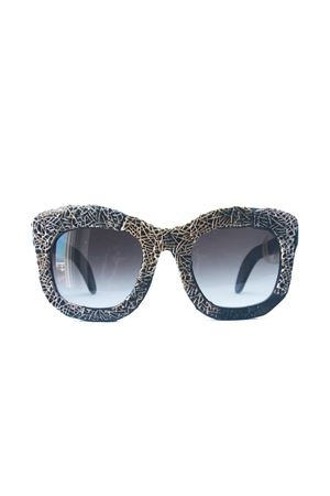 Kuboraum Maske B2 gold and silver sunglasses Kuboraum | 53 | MASKEB2 GOLD SILVERNERO