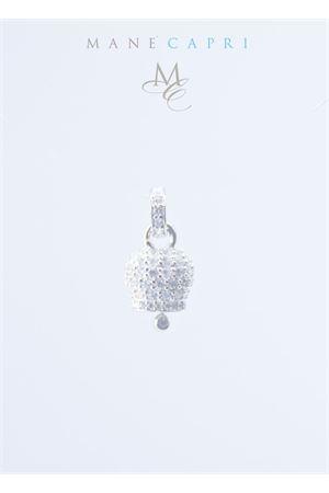 Campanella portafortuna di Capri con zirconi bianchi Manè Capri | 20000055 | MANE2SILVERARGENTO