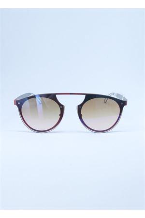 Occhiali da sole artigianali Made In Italy Medy Ooh | 53 | MASK3REDROSSO
