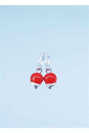 Orecchini con campanelle di Capri Pierino Jewels | 48 | 3064ROSSO