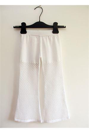 Pantalone bianco da bambina Amina Rubinacci | 9 | AR 54BIANCO