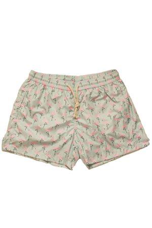 Pink flamingos man swimsuit Aram V Capri | 85 | FENICOTTERIROSA