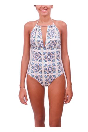 Capri Maiolica swimsuit whole Aram Capri | 85 | INTERO CAPRIGIALLO