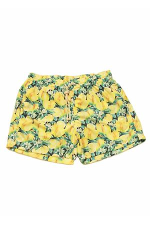 Capri lemons pattern man swimsuit Aram V Capri | 85 | LEMONADEGIALLO