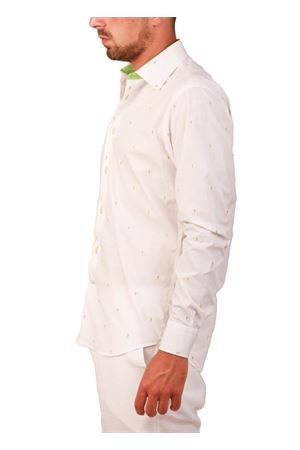Men Ice Cream cotton shirt Colori Di Capri | 6 | REGULAR COTONEBIANCO