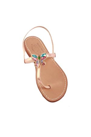 Butterfly jewel Capri sandals Cuccurullo | 5032256 | BUTTERFLYTROSA