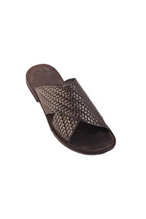 Black Capri sandals for man Cuccurullo | 5032256 | PANTOFOLAMENNERO