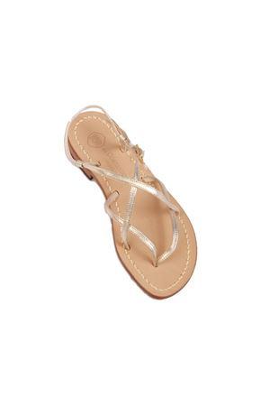 Handmade Capri sandals Da Costanzo | 5032256 | 2013/CPLATINO