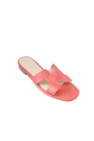 Handmade red Capri sandals Da Costanzo | 5032256 | 2508ROSSO